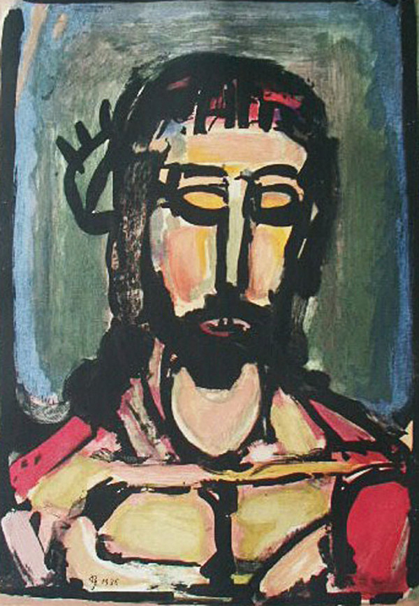 Georges Rouault, French, 1871–1958, Ecce Dolor, plate eight from the Passion, 1936 © 2017 Artists Rights Society (ARS), New York / ADAGP, Paris